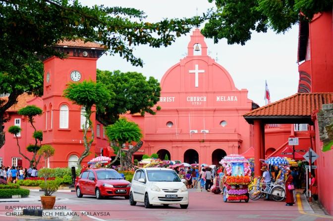 MALAYSIA : CHRIST CHURCH  MELAKA